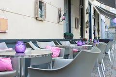 De koffie van de straat in Hol Bosch. Stock Foto