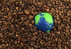 De Koffie van de wereld royalty-vrije stock afbeelding