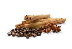 De Koffie van het aroma royalty-vrije stock afbeeldingen