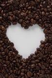 De Koffie van het hart Stock Foto