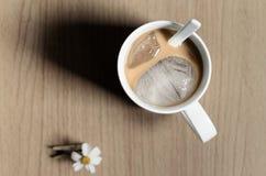 De koffie van het ijs Royalty-vrije Stock Afbeeldingen