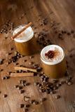 De koffie van het ijs Stock Foto
