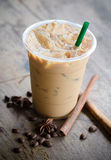 De koffie van het ijs Stock Fotografie