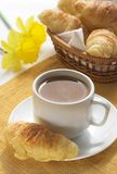 De koffie van het ontbijt Stock Foto's