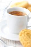 De koffie van het ontbijt Royalty-vrije Stock Afbeeldingen