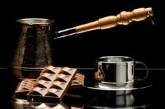 De koffie van het stilleven Stock Afbeelding