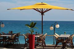 De Koffie van het strand Royalty-vrije Stock Afbeelding