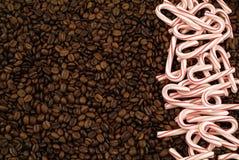 De koffie van Kerstmis Stock Fotografie