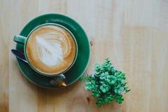 De koffie van Latte Stock Fotografie