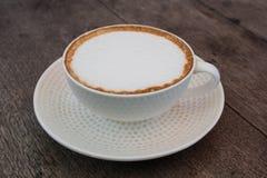 De Hete Koffie van Latte Stock Afbeeldingen