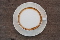 De Hete Koffie van Latte Royalty-vrije Stock Afbeeldingen