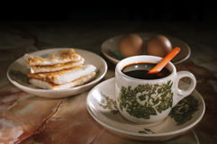 De koffie van Maleisië Stock Afbeeldingen