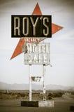 De koffie van Roy op route 66 royalty-vrije stock fotografie