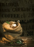 De koffiebonen van het land Royalty-vrije Stock Foto's
