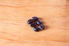 De koffiebonen voor handel, verkopen, ontwerpen stock foto's