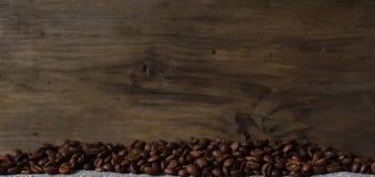 De koffiebonen worden geroosterd Royalty-vrije Stock Afbeelding