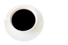 De koffiekop isoleerde witte achtergrond Royalty-vrije Stock Foto's