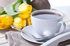 De koffiekop van de ochtend Stock Foto's