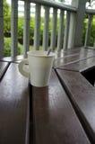 De koffiekop van het document Stock Fotografie
