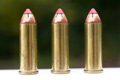 De kogels van de anderhalve liter fles Stock Afbeeldingen