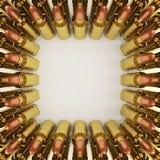 De Kogels van het geweer Stock Afbeeldingen