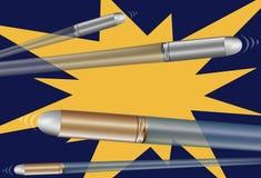 De Kogels van het kanon vector illustratie