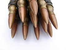 De Kogels van het machinegeweer Stock Foto's