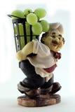 De kok met druiven Royalty-vrije Stock Foto's