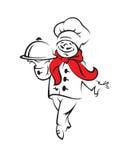 De kok van de chef-kok stock illustratie