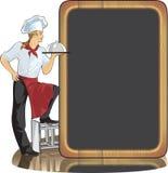 De kok van de mens Royalty-vrije Stock Afbeeldingen
