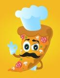 De kok van de pizzachef-kok Royalty-vrije Stock Fotografie