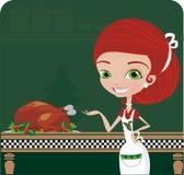 De kok van Kerstmis Royalty-vrije Stock Afbeelding