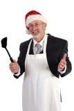 De kok van Kerstmis stock afbeelding