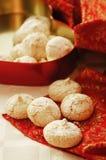 De kokosnotenkoekjes van Kerstmis Royalty-vrije Stock Foto's