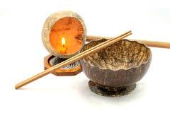 de kokosnotenshell van à ¹ ‡ à ¹ ‡ Handmads Stock Afbeeldingen