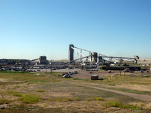 De kolenindustrie in de prairies Stock Fotografie