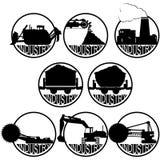 De kolenmijnindustrie Royalty-vrije Stock Afbeelding