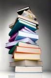 De kolom van boeken Stock Fotografie