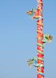 De kolom van de draak Royalty-vrije Stock Foto's