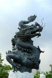 De kolom van de draak Stock Foto