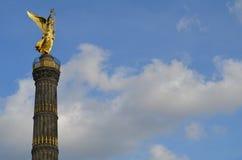 De Kolom van de overwinning in Berlijn, Duitsland Royalty-vrije Stock Foto's