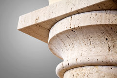 De kolom van de steen Stock Afbeelding