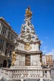 De kolom van de plaag in Wenen Stock Afbeelding