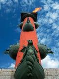 De kolom van rostra door gedenkwaardige D Stock Afbeelding