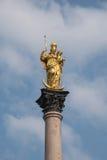 De kolom van St Mary Stock Foto's