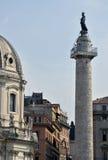 De kolom van Trajan Stock Foto