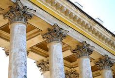 De kolommen Stock Afbeeldingen