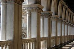 De kolommen van de doge Stock Afbeeldingen