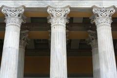 De Kolommen van de oud-stijl royalty-vrije stock foto's