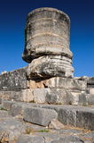 De Kolommen van de tempelruïne royalty-vrije stock foto's